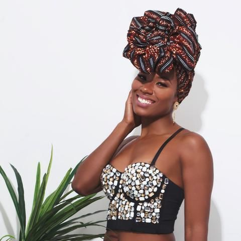 Up your hair game this fall with these cute head wraps   – African American Hair