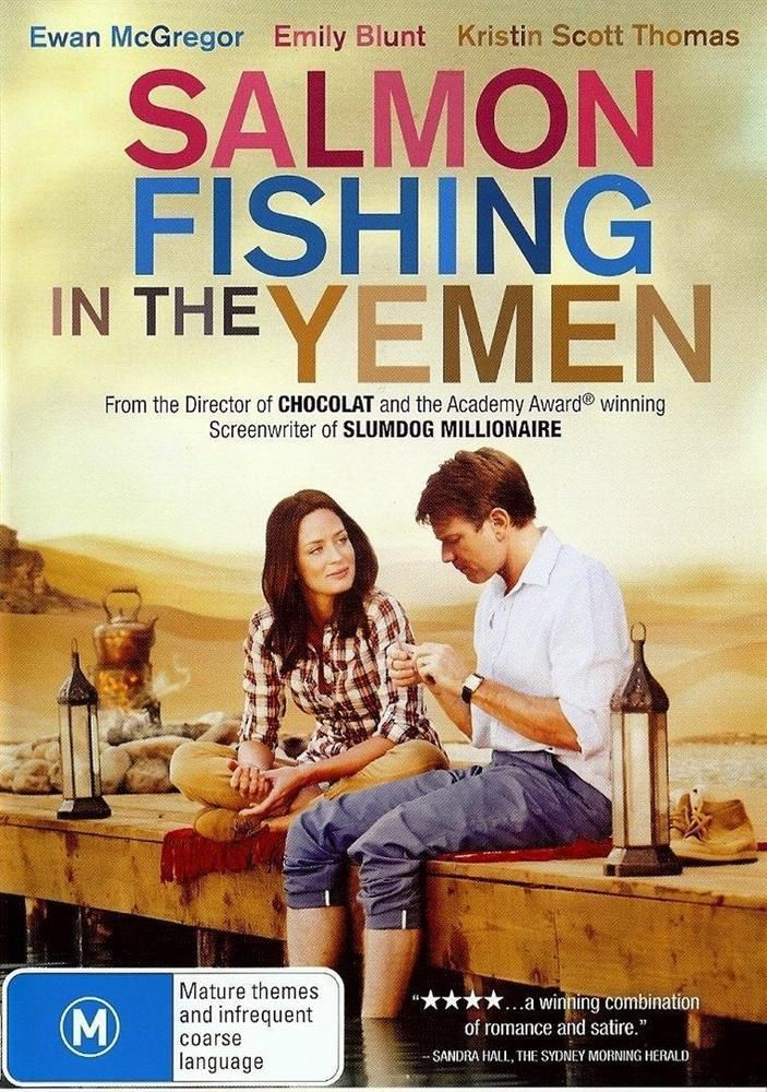 Salmon Fishing in the Yemen (DVD 2012) As New Ewan McGregor Kristin Scott Thomas #dvd #movies