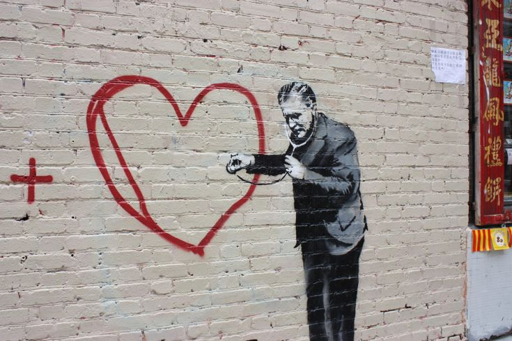 Have you ever wondered about the meaning of Banksy's street art?