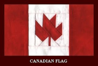 Free Pattern Day: Canadian Flag
