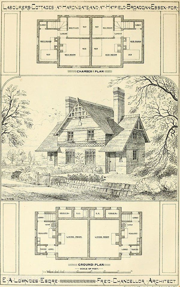 Best Historic Plans Images On Pinterest Vintage Houses