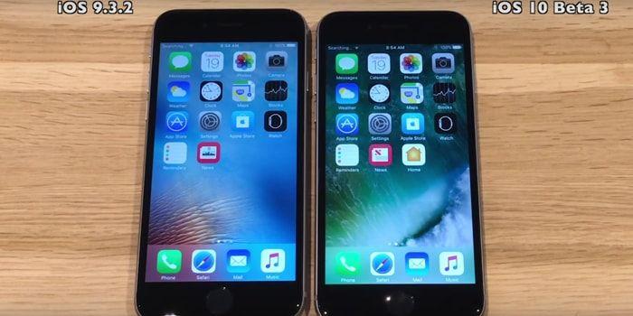 iOS 10 beta comparativa de velocidad con iOS 9.3.2 en varios iPhones http://iphonedigital.com/ios-10-beta-comparativa-velocidad-ios-9-3-2-iphones-6s-6-5s-5/ #apple