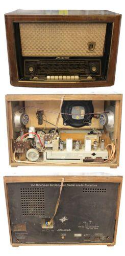 altes-Roehrenradio-RFT-Rochlitz-Juwel-DDR