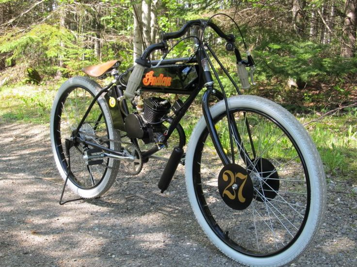 Vintage Motorcycle Replicas 81