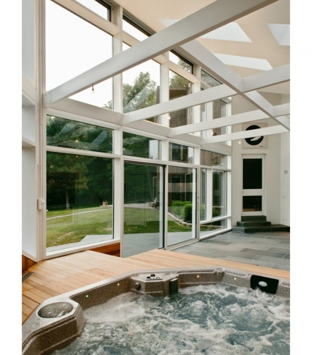 Jacuzzi In The Living Room: 32 Best Hot Tub Sunroom Ideas Images On Pinterest