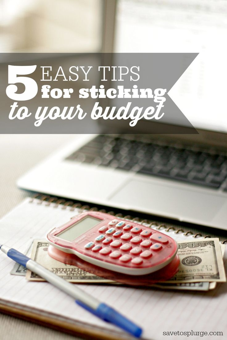 What good is a budget if you can't stick to it, right? I started looking at why I was overspending and came up with these easy tips for how to stick a budget.