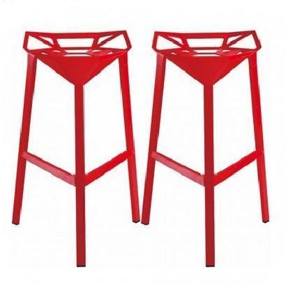 Geometric Aluminum Barstool Products Pinterest Bar