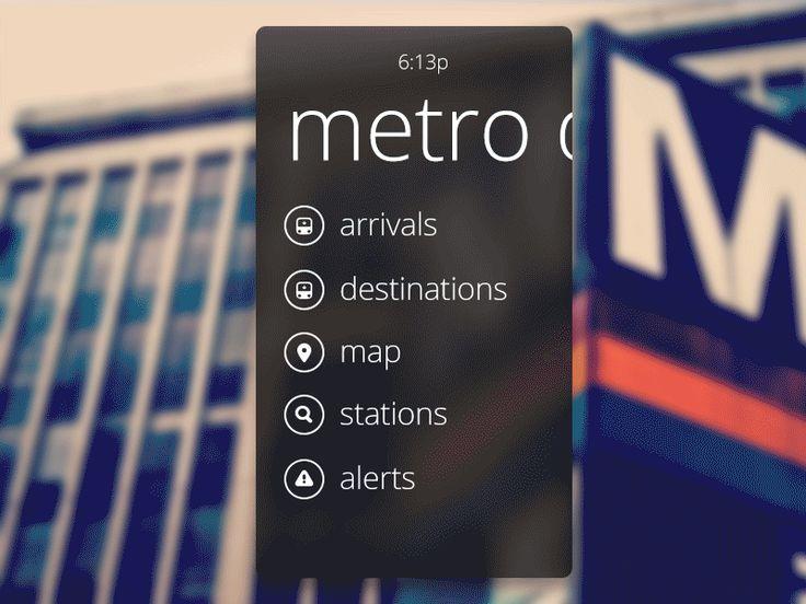 MetroLite UX #UI