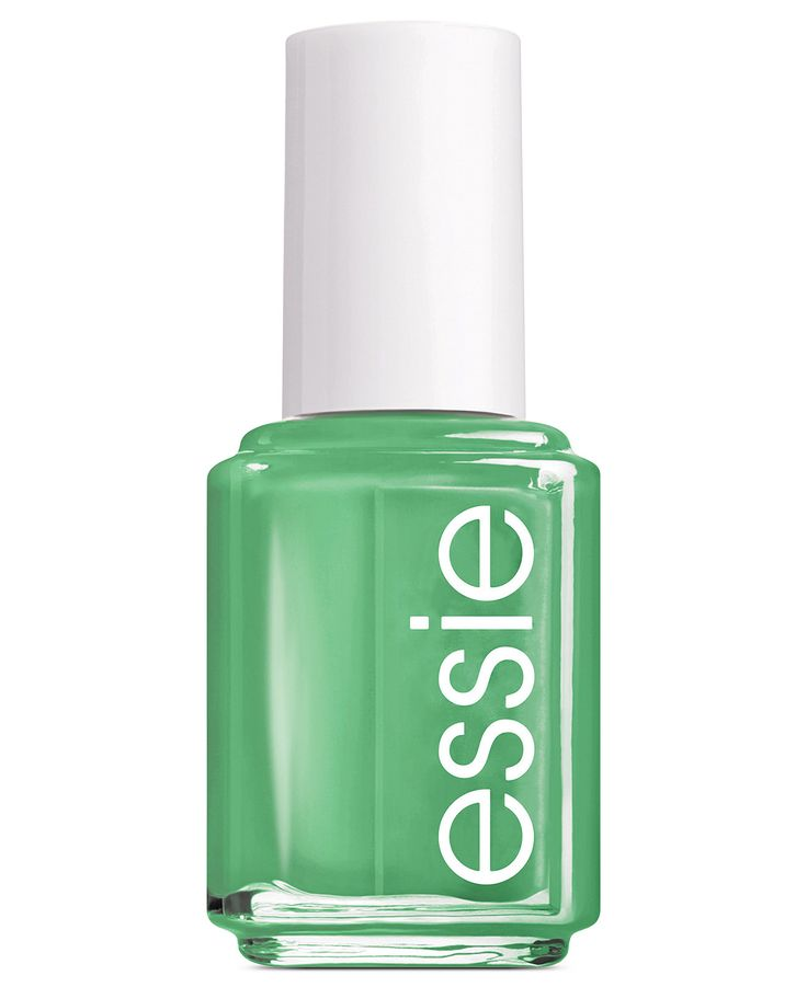 Essie nail polish in Mojito pays homage to the best Summer cocktail on the menu. This playful green is a fun pick for your next party mani!
