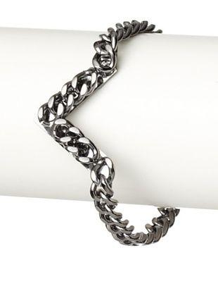 Fallon Gunmetal Area 51 Pointed Bracelet