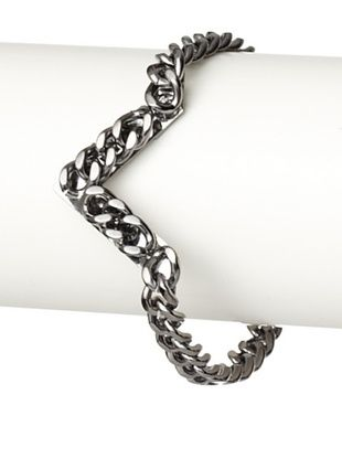 Fallon Gunmetal Area 51 Pointed Bracelet