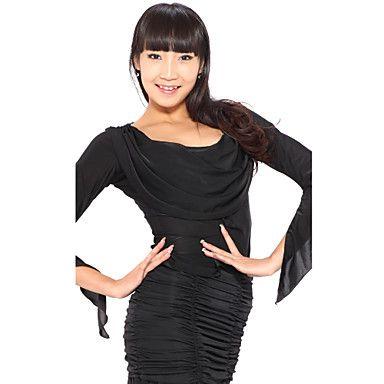 Dancewear viskoosi moderni ja Latinalainen tanssi toppeja naisille – USD $ 29.99