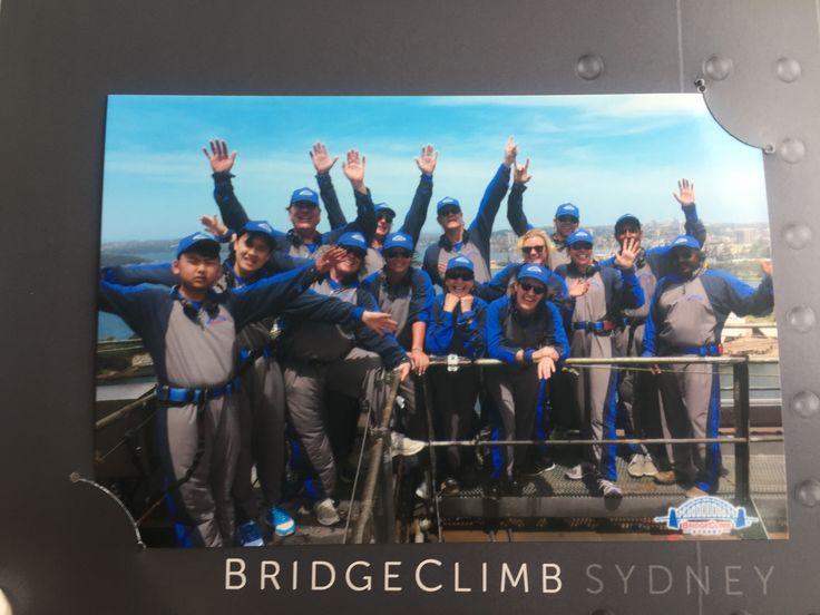 Climb the Sydney Harbour Bridge 🇦🇺✅