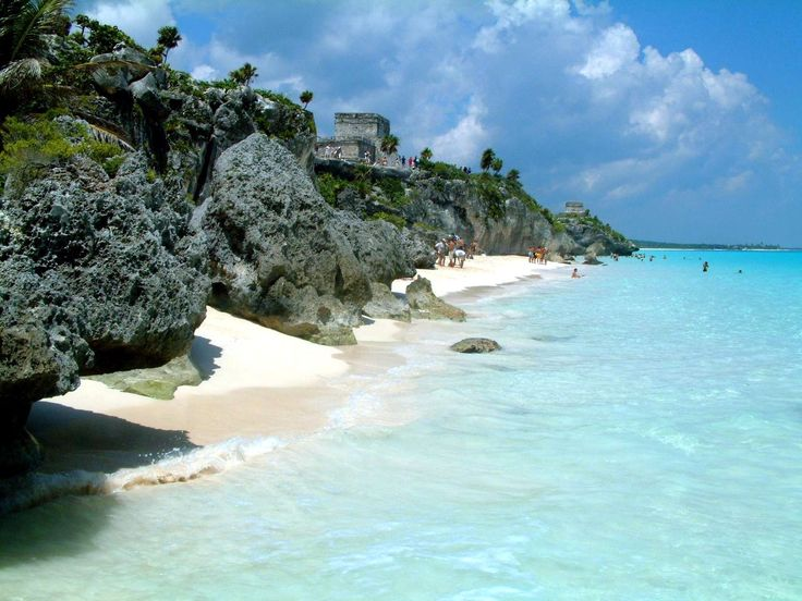 Tulum, Mexico (Mar das Caraíbas, Riviera Maya)