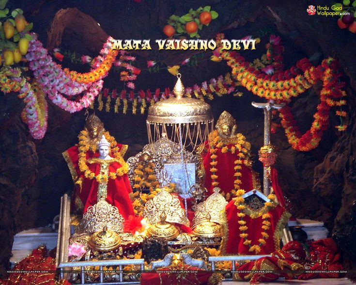 Mata Vaishno Devi Pindi Wallpaper Free Download