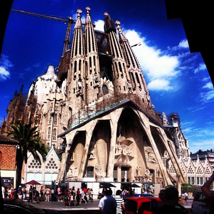 La sagrada familia Gaudí Barcelona