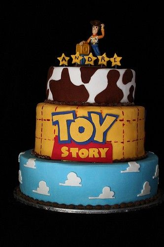 Toy+Story+Birthday+Cakes - Click image to find more Kids Pinterest pins