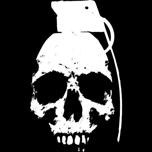 Skullgrenade is a T Shirt designed by matthewdunnart to illustrate your life and is available at Design By Humans