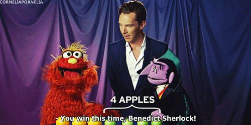 And taught us how to spell. | 39 Times Benedict Cumberbatch Completely Broke The Internet
