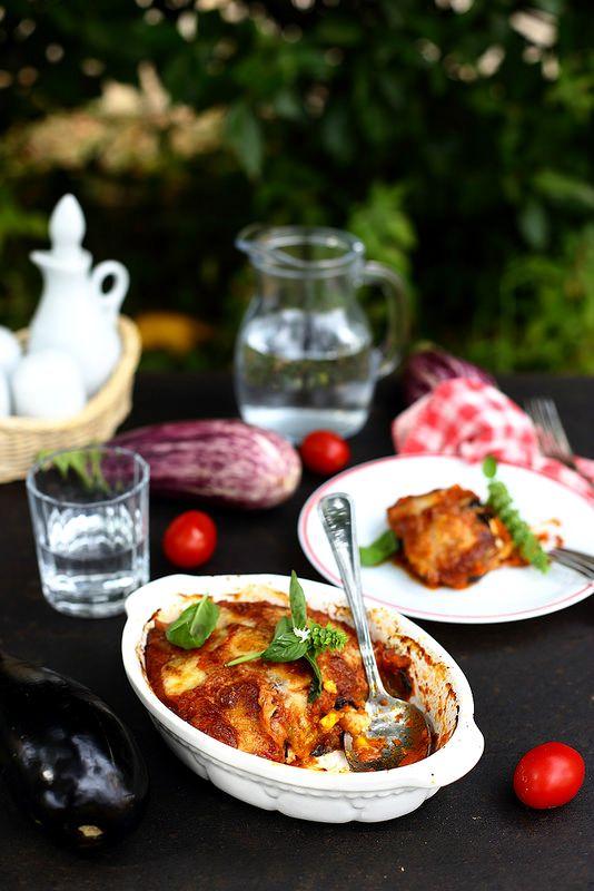 Parmigiana d'aubergines à la sicilienne/undejeunerdesoleil