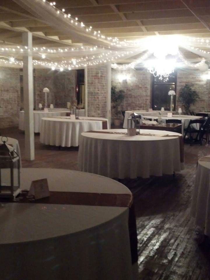The Bottle Factory Venue In Monroe NC Large Vintage Ballroom For Wedding Receptions