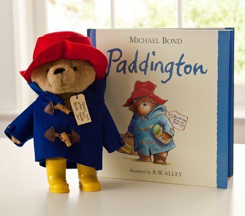 Paddington Bear Book & Plush Set   Pottery Barn Kids <3 Reading