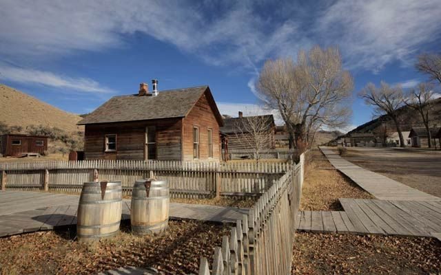 Bannack, MT ghost town