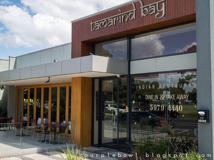 Purple bowl: Tamarind Bay Indian restaurant @ Hastings, Morning...