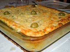 Aprenda fazer a Receita de  Torta de Bacalhau Gratinado com Batata. É uma Delícia! Confira os Ingredientes e siga o passo-a-passo do Modo de Preparo!