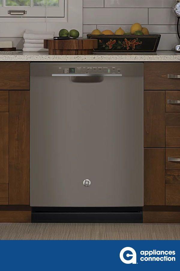Ge Gdf650smjes 24 Inch Slate Built In Full Console Dishwasher Kitchen Design Home Appliances Kitchen Decor