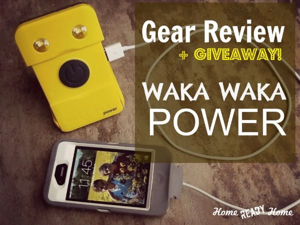 Gear Review: WAKA WAKA POWER---A Solar Smartphone Charger-Flashlight +GIVEAWAY! giveaway ends 3/13/14