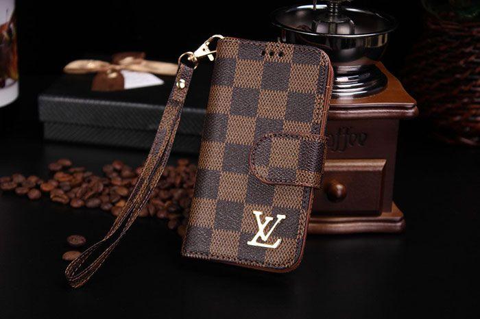 Louis Vuitton Luxury iPhone 7 Wallet Case Crazy Coffee