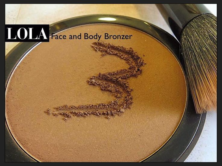 Lola tips Face and Body Bronzer