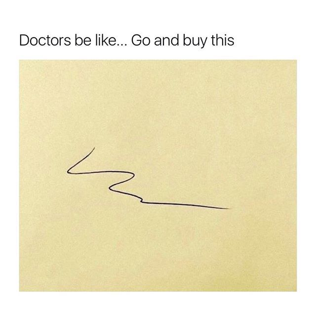 Yup, every doctor I go to tells me to buy the same thing! :O