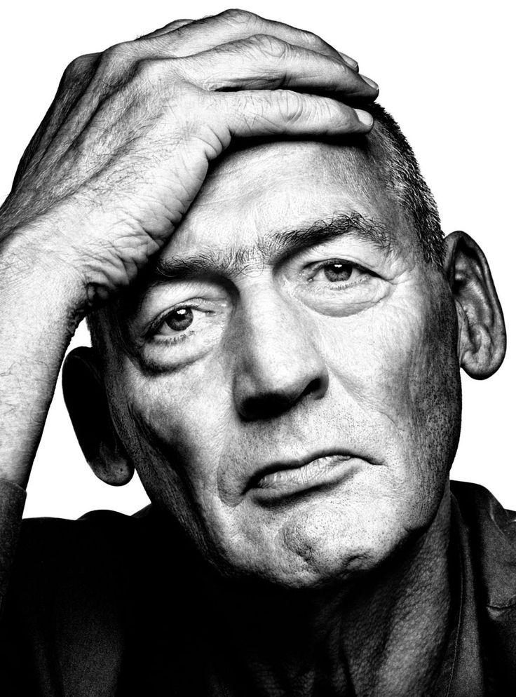 Rem Koolhaas (1944) - Dutch architect, architectural theorist, urbanist - Photo by Platon