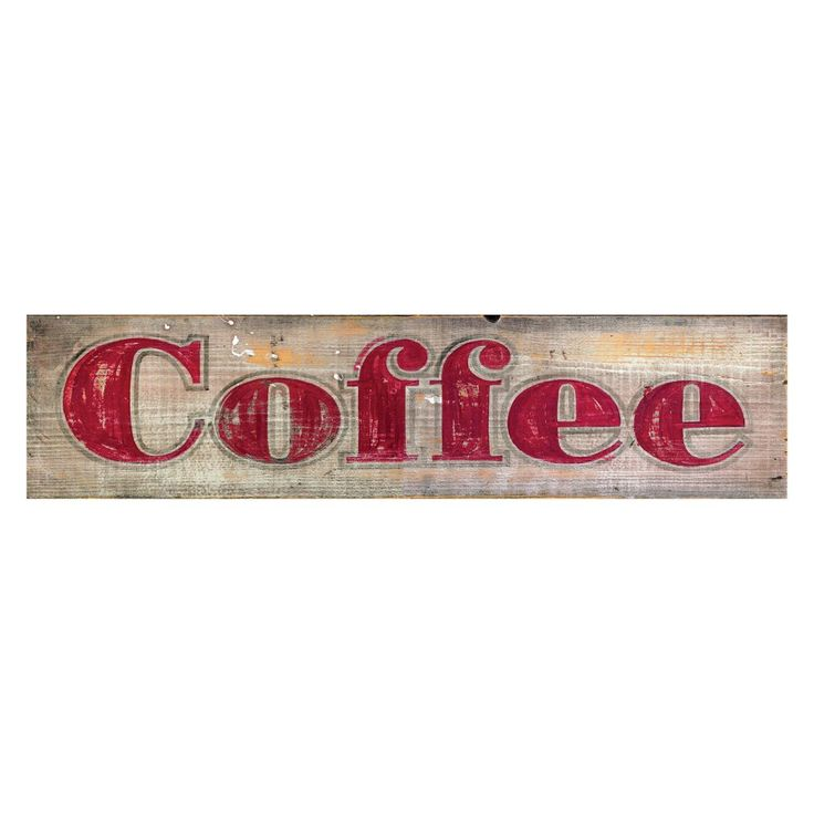 Coffee Wall Art - 28W x 7H in. - Wall Art at Hayneedle