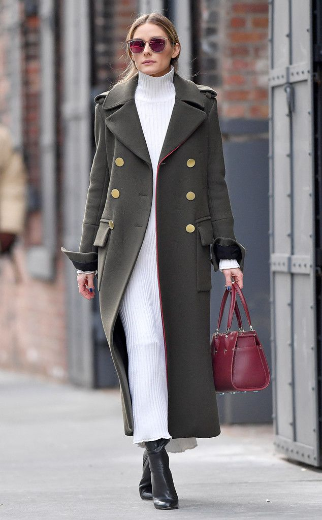 Olivia Palermo - Sleek and chic! The fashionista rocks a perfect outfit while around town in The Big Apple.