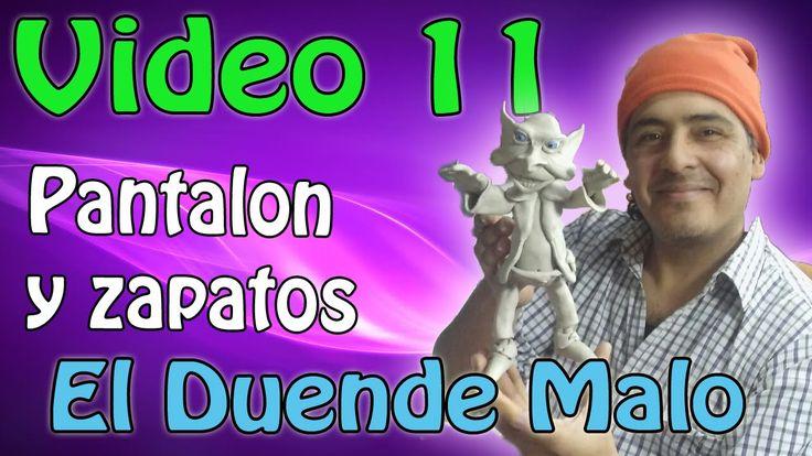 """""""Duende Malo"""" Pantalón y Zapatos Video #11"""