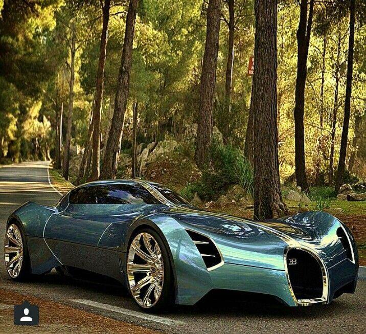 Bugatti Aolithe Concept Wir glauben, dass es aus der Zukunft kommt! Was denkst du so