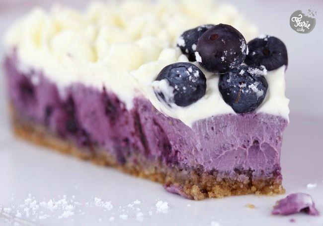.^. Cheesecake myrtilles-citron | Féerie cake