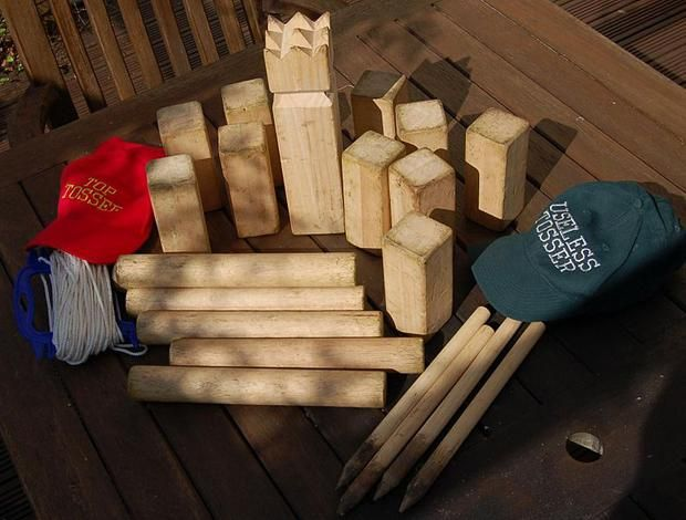 5 Alternative Yard Games You Can Master This Summer | Mental Floss....I wanna find out what Kubb is and play it.