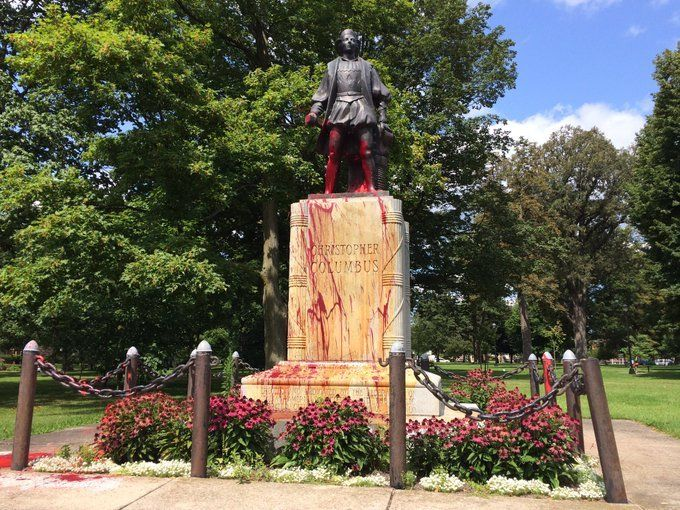 the imperialistic nature of christopher columbus Christopher columbus was the person who first set in motion a great  describes  the ideological relationship between darwinism, imperialism, and racism.