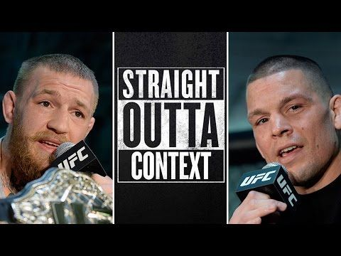 UFC ON FOX: Straight Outta Context: Conor McGregor vs. Nate Diaz | UFC 196
