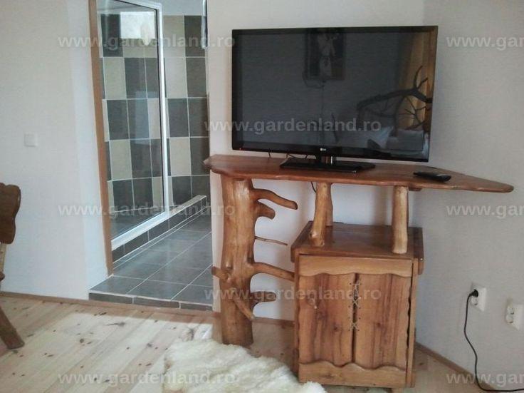 Suport TV şi dulap minibar