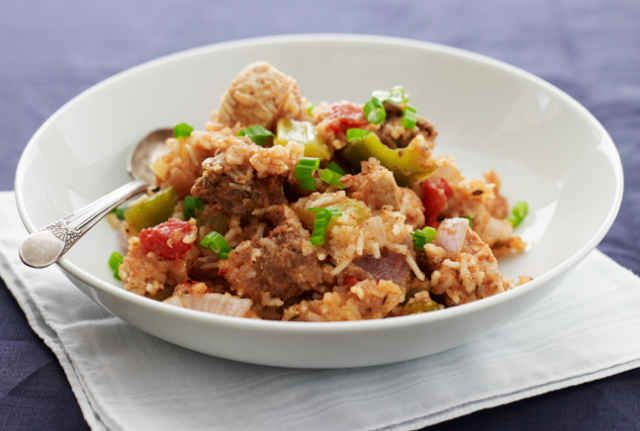 Sausage and Chicken Jambalaya