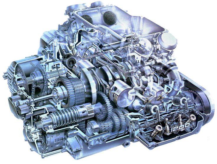 Honda Goldwing Gl1200 Engine 19841987 Pinterest