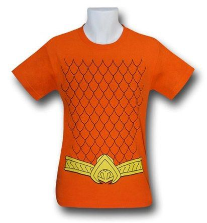 Aquaman New 52 Costume T-Shirt medium