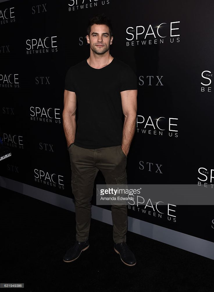 Actor Brant Daugherty arrives at the premiere of STX Entertainment's 'The Space Between Us' at ArcLight Hollywood on January 17, 2017 in Hollywood, California.