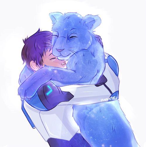 VLD fanart - Lance and the Blue Lion Friendliest Bond