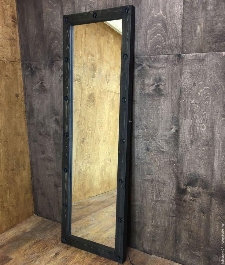 Купить Зеркало WOODSTOCK. 180/60 - коричневый, зеркало, настенное зеркало, зеркало во весь рост